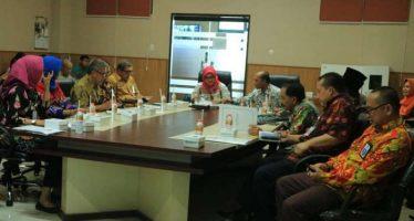 Bupati Tantri Pimpin Rakor Persiapan Tahapan Pemilu 2019