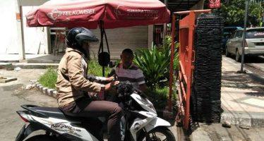 Terapkan Dua Pintu, Parkir Kantor Pos Kota Malang Di Jamin Aman
