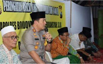 Jelang Pemilu, Polres Bondowoso Lakukan Pemetaan Daerah Rawan