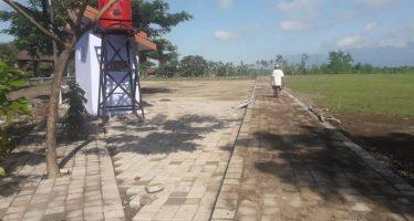 Kepala Sekolaha SMP 4 Semberjambe Berencana Jadikan Jogging Track Tempat Latihan Atletik Siswa