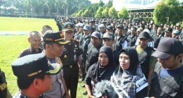 Suport Satuan Petugas Untuk Amankan Desa Disaat PEMILU Berlangsung