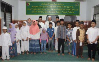 Kodim 0820/Probolinggo peringati Nuzulul Qur'an di Masjid Al-Hidayah