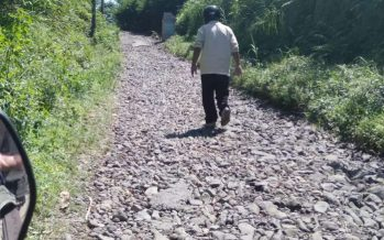 4 Tahun Jalan Desa Jeruk – Sombo Rusak Parah, Pemkab Seakan Tak Peduli