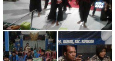 Desa Kemiri Mewakili Kecamatan Kepanjen Dalam Lomba Musik Patrol KAPOLRES CUP