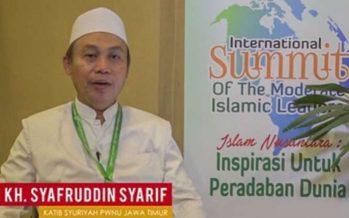 Ucapan Selamat Kepada Jokowi Dari Katib Syuriah PWNU Jawa Timur