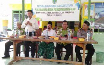Mengembangkan Wahana Demokrasi   Melalui Musyawarah Pembentukan Anggota BPD Desa Oro Oro Orohulu