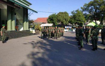 Dengan Berlatih Baris Berbaris di Minggu Militer, Kodim 0820 Mantapkan Disiplin Prajurit