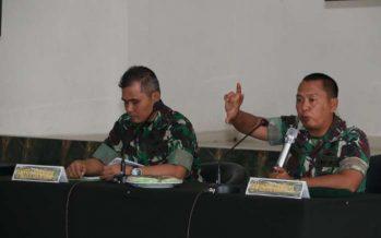 Divif 2 Kostrad Melaksanakan Sosialisasi Fungsi Teknis Manajeman Bidang Intel Ta. 2019