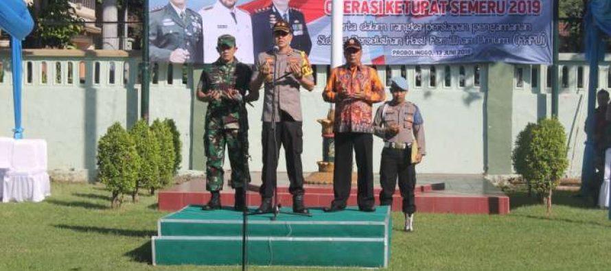 Apel Konsolidasi Operasi Ketupat Semeru 2019