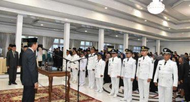 285 Pejabat lingkup Pemda dilantik Bupati Barito Utara