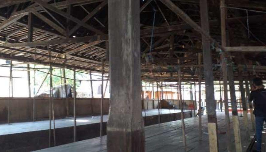 Kondisi Bangunan Pasar Desa Sikui Sangat Memprihatinkan