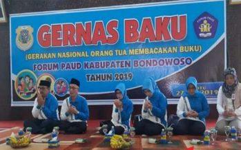 Bupati Bondowoso Salwa Arifin Bacakan Buku Untuk Anak PAUD