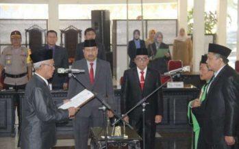 Bupati Bondowoso KH Salwa Arifin Lantik Sekretaris Daerah Bondowoso