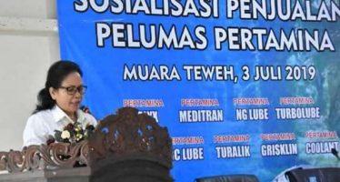 PT. Pertamina Lubricants Sosialisasikan Penjualan Pelumas