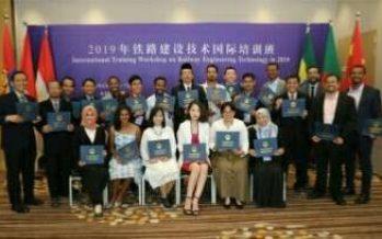 Poliwangi Kembali Hadir Pada International Training Workshop on Railway Engineering Technologi di China
