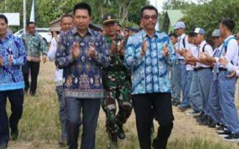 Peletakan Batu Pertama Bangunan Sarang Walet Di Teweh Timur Bupati Barut Apresiasi Langkah LPTQ dan GKE Dalam Pengembangan SDM