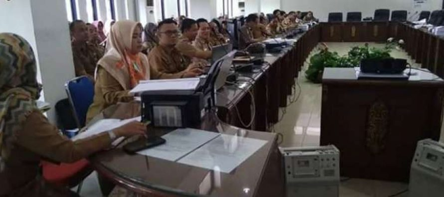 Pemkab Barut Bersama DPRD Kembali Menggelar Rapat Lanjutan Membahas LPJ Pelaksanaan APBD Tahun 2018
