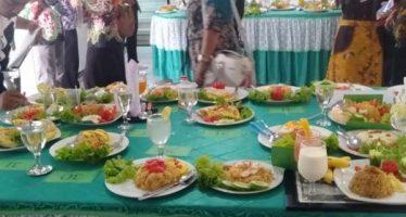 Kegiatan HUT RI Ke-74 Kabupaten Lumajang Gelar Lomba Pejabat Memasak Nasi Goreng
