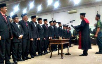 Sebanyak 45 Anggota DPRD Bondowoso Periode 2019 – 2024 Resmi Di Lantik