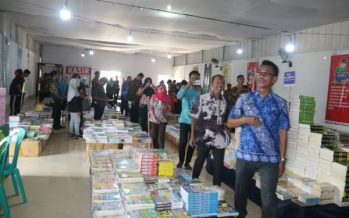 Dissiptaka Barut Gelar Pameran Buku Muara Teweh Tahun 2019