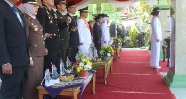 DANDIM 0820/PROBOLINGGO HADIRI UPACARA PERINGATAN HUT RI KE-74 TAHUN 2019 DI KAB. PROBOLINGGO