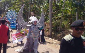 Pawai Budaya Desa Maskuning Kulon Mewarnai HUT RI Ke 74 Th 2019