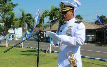 HUT TNI KE 74, Lanal Bayuwangi Gelar Upacara
