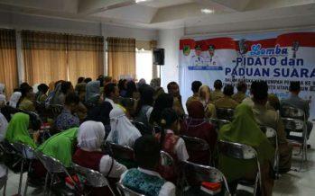 Peringatan Sumpah Pemuda ke 91, Disbudparpora Barut Gelar Lomba Pidato dan Paduan Suara