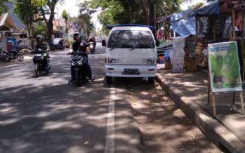 Trotoar Jalan Sumedang Kepanjen, Alih Fungsi Tempat PKL