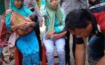 Tim Sahabat Polres Malang, Berbagi Rejeki Dengan Warga Kurang Beruntung