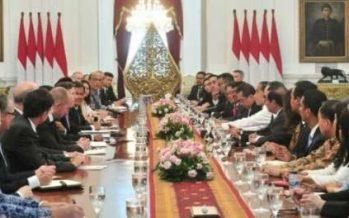 Terima Dewan Bisnis AS-ASEAN, Presiden Jokowi: Bisnis AS Optimalkan Kerja Sama, Terutama Di Bidang Infrastruktur Dan Pengembangan SDM
