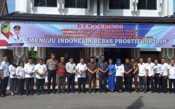 Deklarasi Penutupan Lokalisasi Prostitusi Lembah Durian Merong Barito Utara