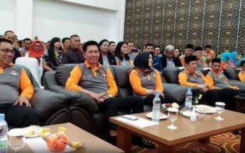 Launching Pilgub Tahun 2020 Dihadiri Bupati Barut H.Nadslsyah