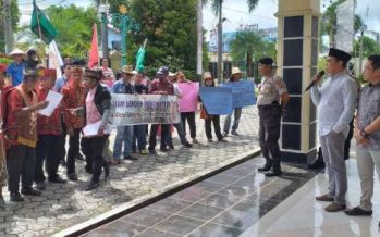Aksi Solidaritas Warga Bela Peladang Disambut Baik Oleh Anggota DPRD Barut