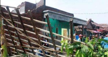 Puting Beliung Terjang Dua Desa di Tanggulangin