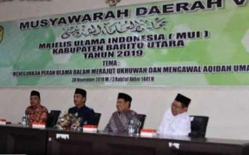 Musda Ke-V Majelis Ulama Indonesia(MUI) Barut