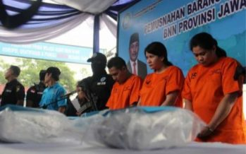 Penyelundup Sabu-Sabu dari Malaysia Ditangkap Polrestabes Surabaya