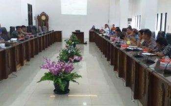 RDP Mengenai Eks Prostitusi Merong,Digelar Pada Ruang Rapat DPRD Barito Utara.