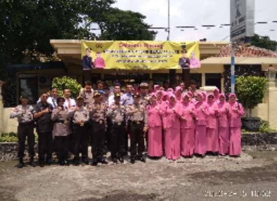 Kunjungi Polsek Rembang, Kapolres Cek Asrama