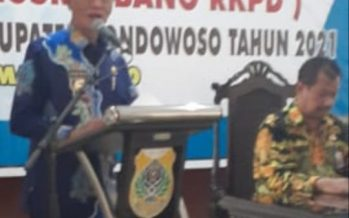 Bupati Bondowoso KH Salwa Arifin Gelar MusrenbangKab 2021