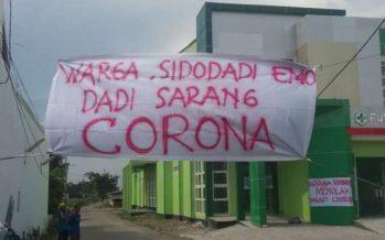 Warga Sidodadi Menolak Puskesmas Dibuat Isolasi Pasien Corona